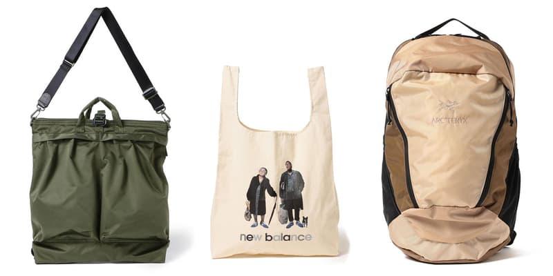 BEAMS x New Balance, Arc'Teryx, L.L.Bean SS20 Bags spring summer f/ce collaboration spring summer 2020 boy plus lights