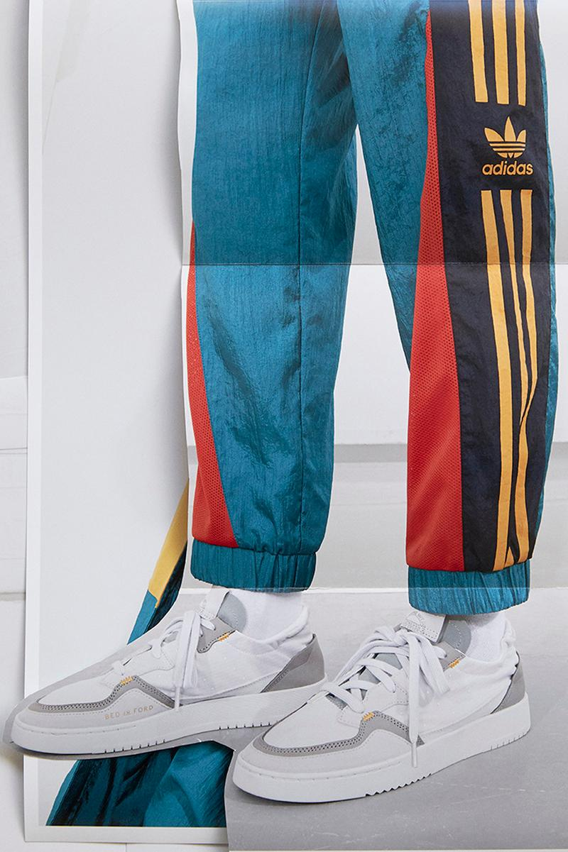 Bed J.W. Ford x adidas Originals Spring/Summer 2020 collaboration collection ss20 apparel supercourt sneakers japan release date info february 29