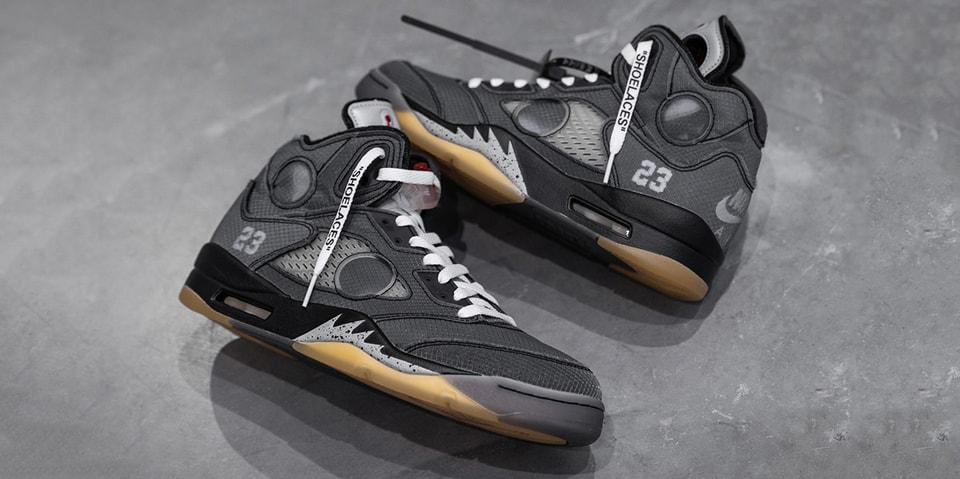 Off-White™ x Air Jordan 5 Receives Top Billing in This Week's Best Footwear Drops