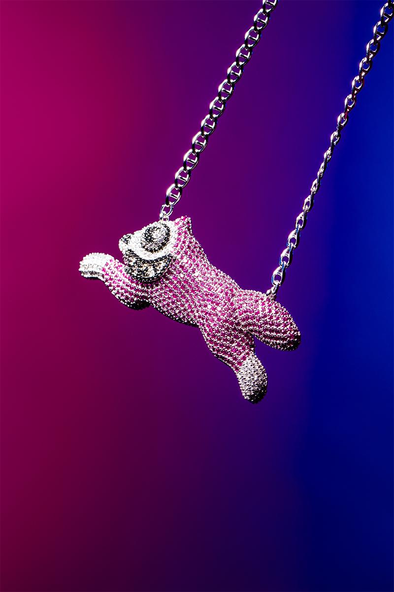 Billionaire Boys Club ICECREAM GHOST Dog Cone Dollar Necklace Release Info Buy Price Jacob & Co. the jeweller Arabo