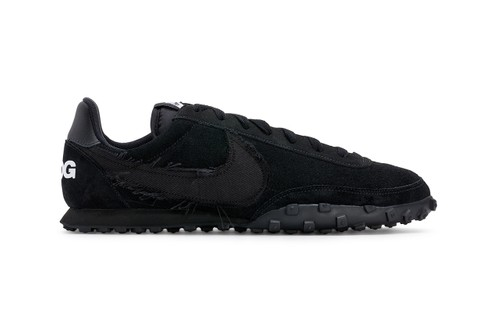 An Official Look at the BLACK COMME des GARÇONS x Nike Waffle Racer 2
