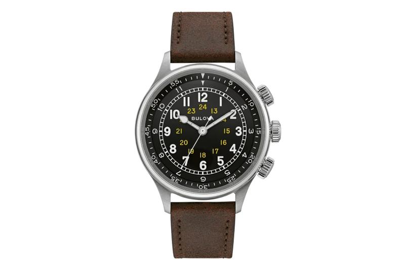 bulova 1944 40s american swiss made movement a 15 pilot watch military collection vintage retro