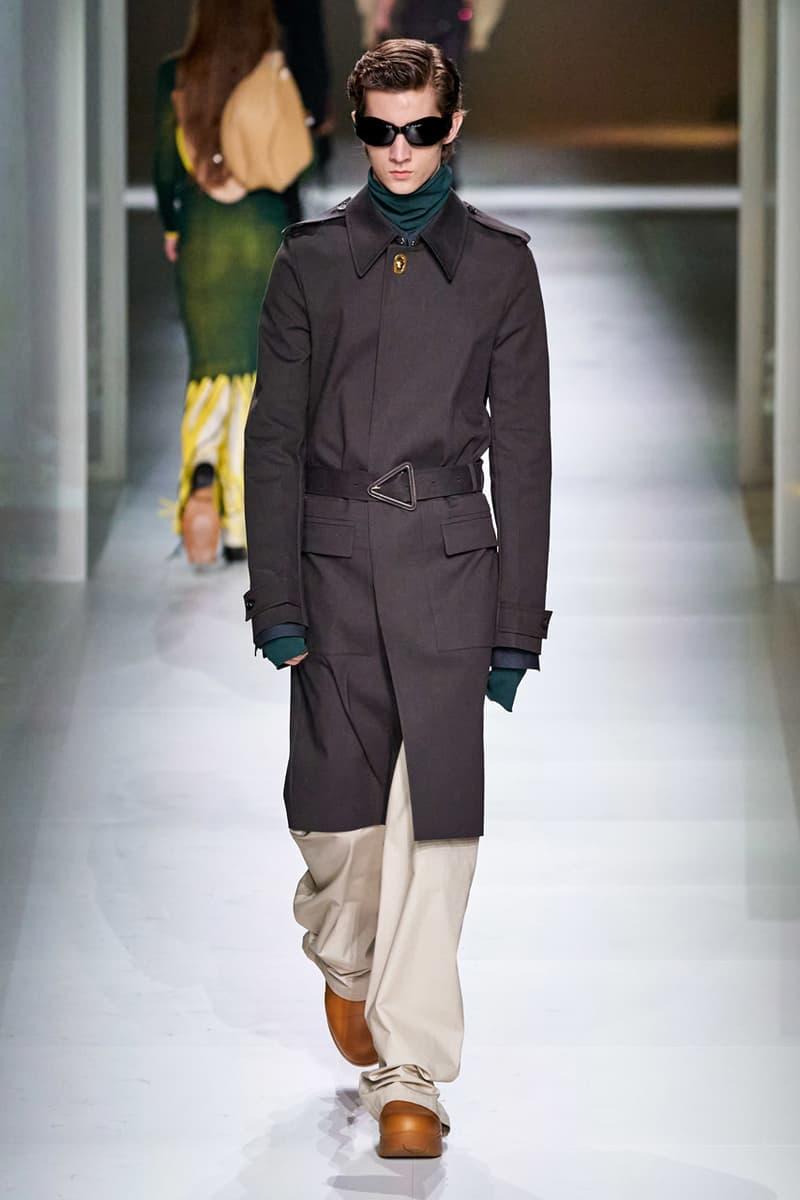 Bottega Veneta Fall/Winter 2020 Collection runway show presentation milan fashion week fw20 daniel lee intrecciato