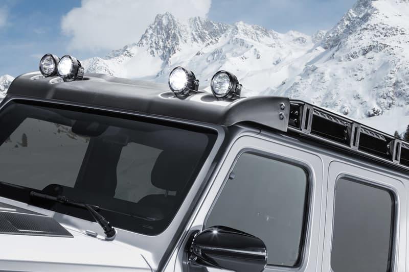 brabus custom modification 800 adventure xlp 4x4 four wheel drive suv pickup truck mercedes amg g63