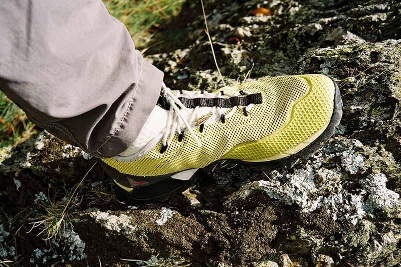 Brain Dead ROA Spring Summer 2020 Lookbook collection shoes sneakers runners trainers kicks hiking trekking mountaineering functional utilitarian performance athletic trek kyle ng