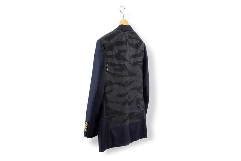Brooks Brothers Junya Watanabe MAN Shirt Blazer comme des garcons sartorial bespoke jacket menswear sport streetwear eYe spring summer 2020 capsule collection cdg bespoke