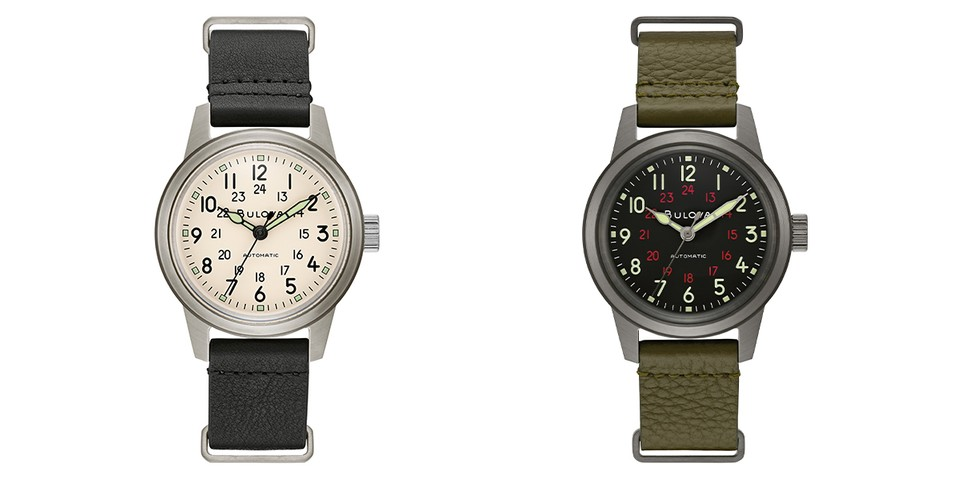 Bulova Brings Back Its WW2-Era Military Hack Watch