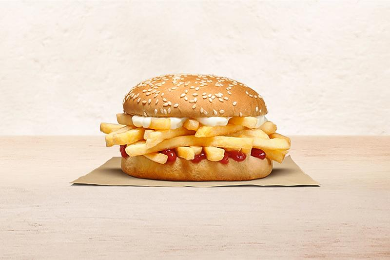 Burger King Chip Butty Chip Butty with Bacon Release Info New Zealand