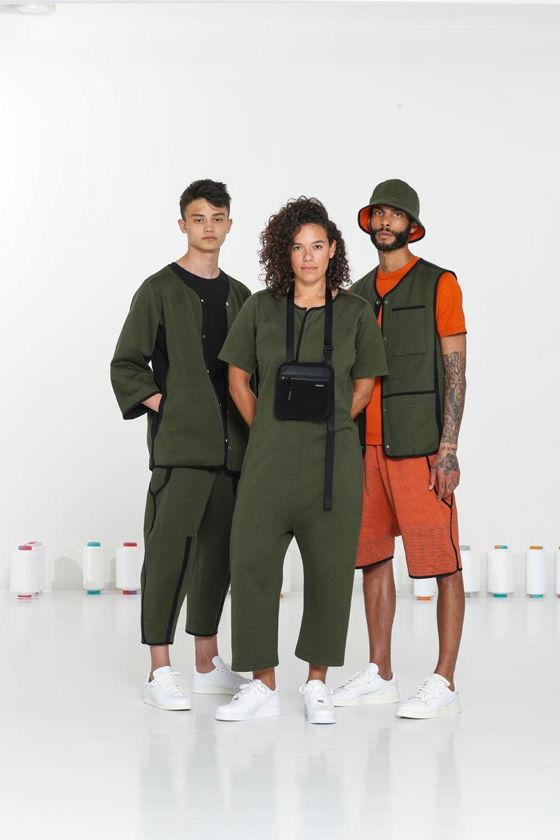 BYBORRE SS20 TDK Edition Collection Lookbook spring summer 2020 merino woolmark company weave knitwear coolmax attachment only 2