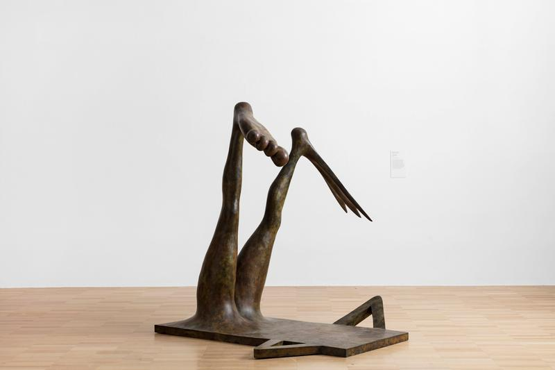 """Camille Henrot """"Play Your Part"""" Exhibition National Gallery of Victoria Telephone Sculptures 'Grosse Fatigue' Film 'The Pale Fox' Installation"""