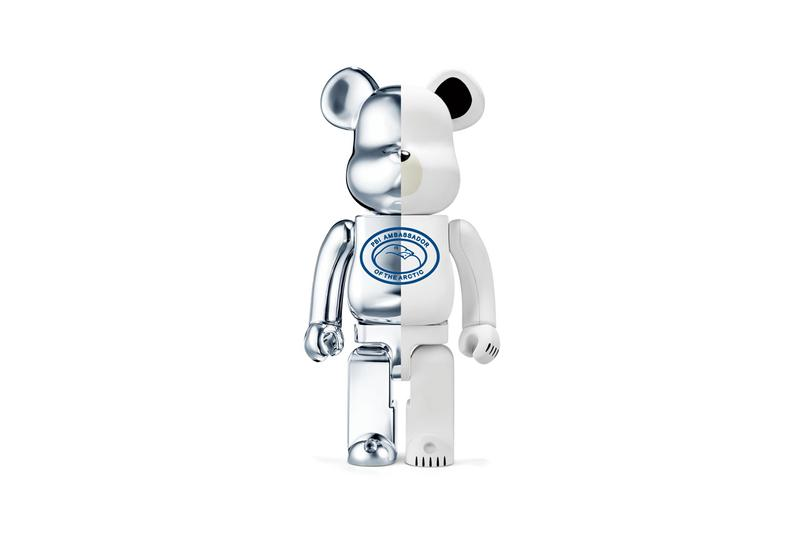 canada goose polar bears international be@rbrick bearbrick pbi limited edition donation to support conservation of polar bear