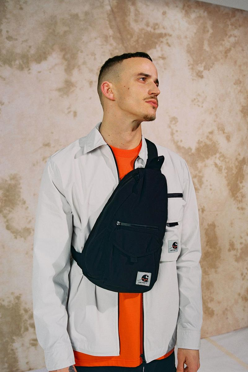 carhartt wip spring summer 2020 ss20 lookbook collection images photographer thibault grever danish dj courtesy curator tabitha thorlu bangura vic crezee musician oko jacket single knee pant detroit jacket