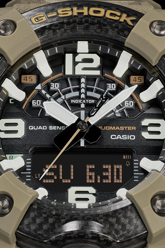 Casio G-SHOCK x The British Army Mudmaster watches rugged survival carbon accessories outdoors