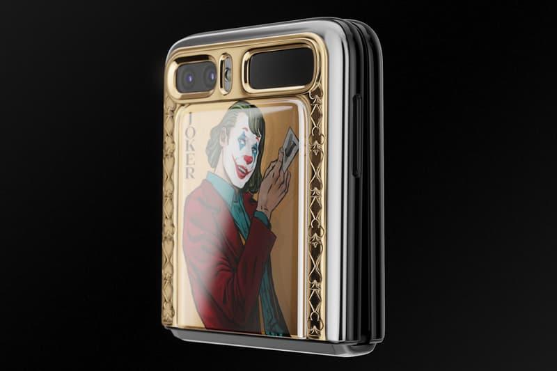 Caviar Golden Joker Samsung Galaxy Z Flip Harley Quinn