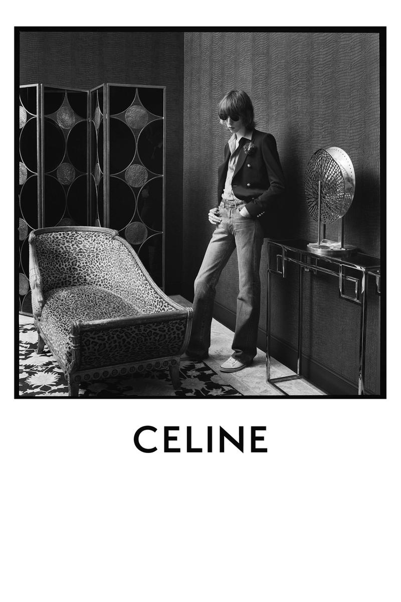 Celine Spring Summer 2020 Mens Collection Campaign Hypebeast