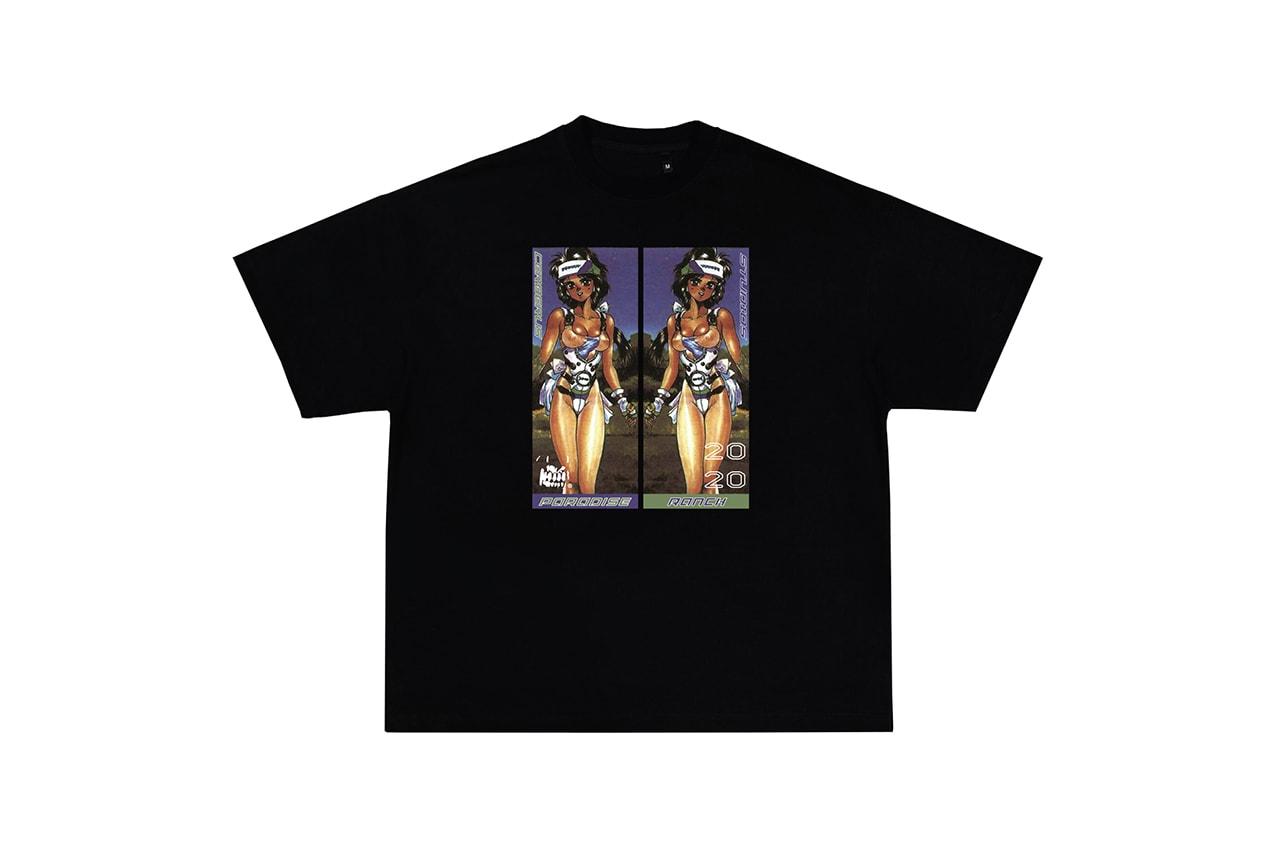 Cerberus USA Collection Six Lookbook capsule cosmic lifestyle retro futurism space exploration consciousness unisex streetwear menswear Paradise Ranch sci fi graphics area 51 t shirts