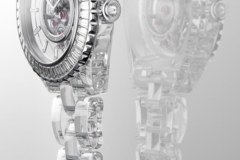 Chanel J12 X-Ray Watch News sapphire hodinkee watches swiss movement F P Journe diamonds baguettes