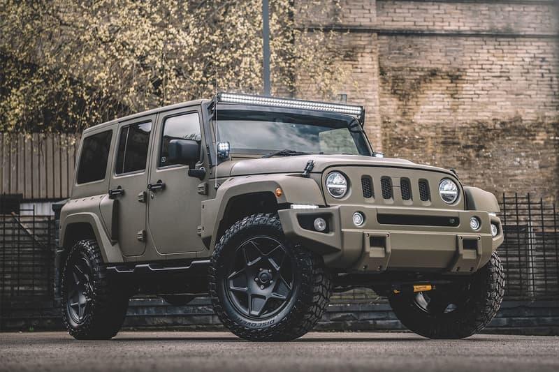 Chelsea Truck Co. Black Hawk Expedition Info Jeep Wrangler Sahara off-roading SUVs Jeeps