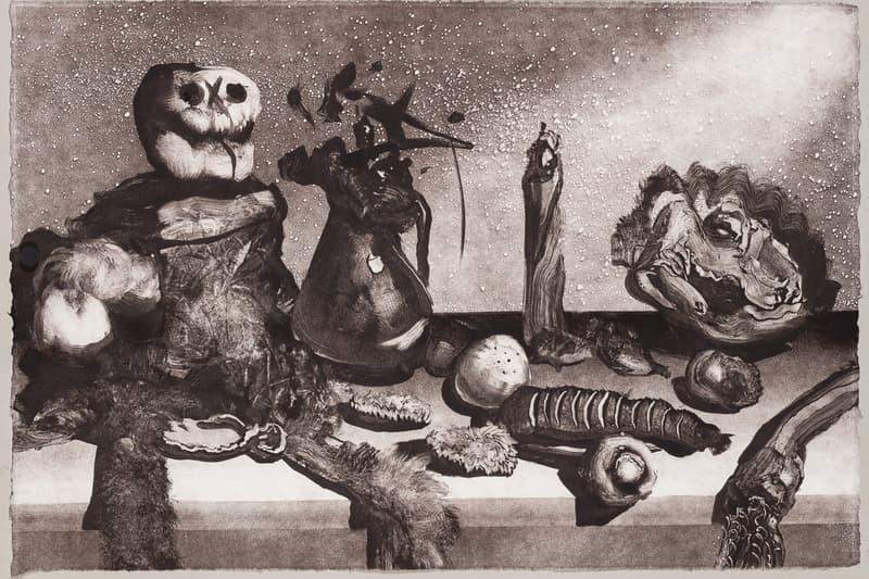 "Christian Rex van Minnen ""West Cliff"" Exhibition Ross+Kramer Gallery Monotype Etching"