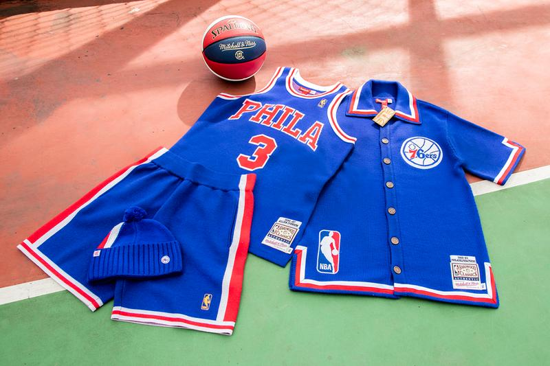 CLOT x Mitchell & Ness Allen Iverson 76ers Kevin Durant Sonics Capsule Collection Collaboration Release Information Drop All-Star Weekend in Chicago Edison Chen Lookbooks