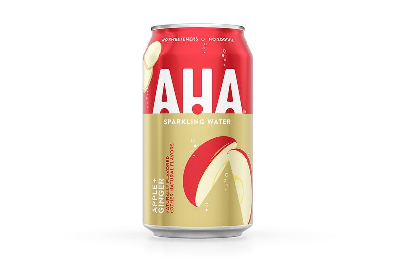 Coca-Cola AHA Flavored Seltzer Line Release Info Buy Price Where Apple Blueberry Cherry Orange Lime Lemon Peach Strawberry Ginger Pomegranate grapefruit cucumber honey watermelon citrus green tea black coffee