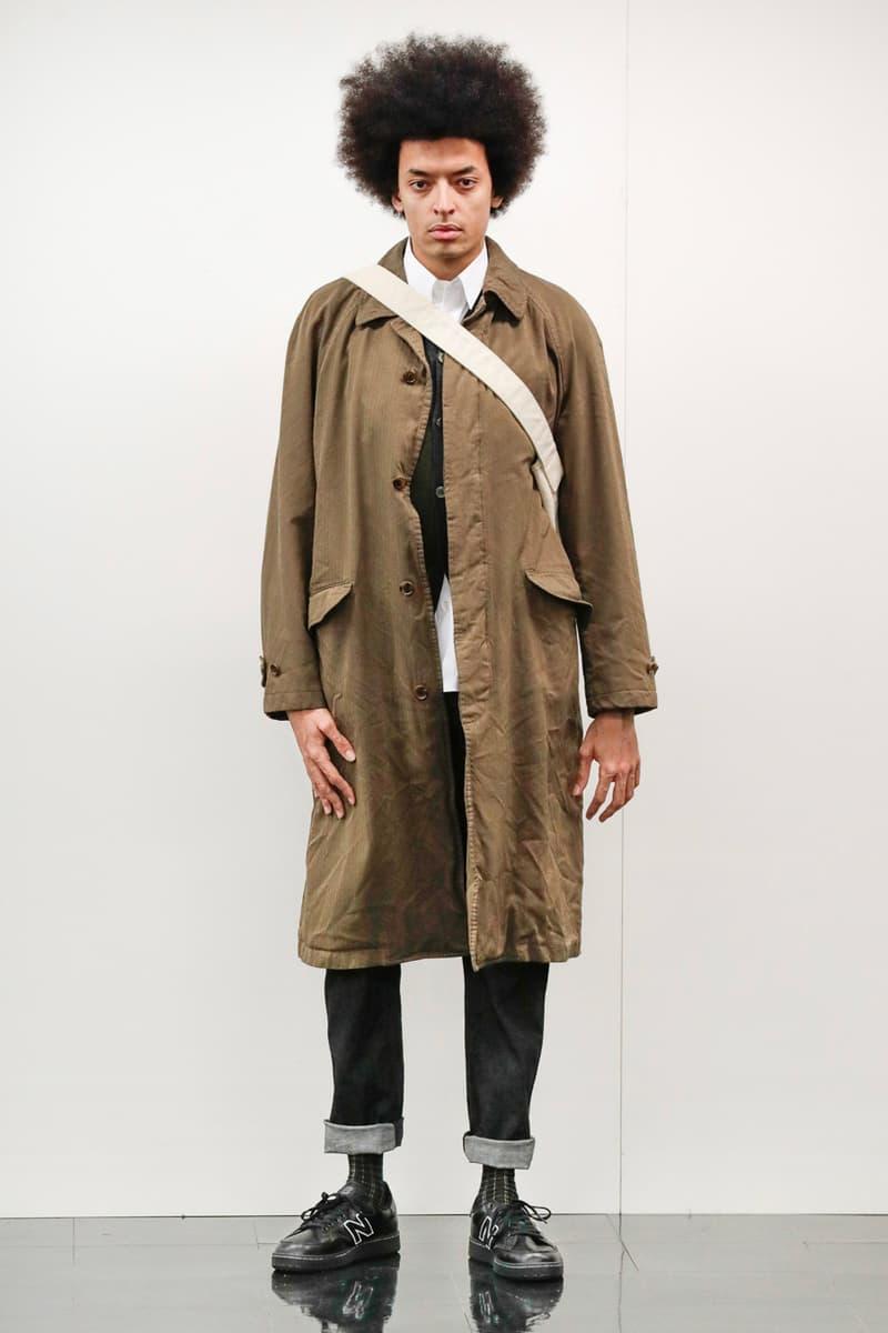 COMME des GARcONS HOMME Fall Winter 2020 lookbook collection multi panel deoncstruction british sartorial style menswear streetwear rei kawakubo japanese japan designers