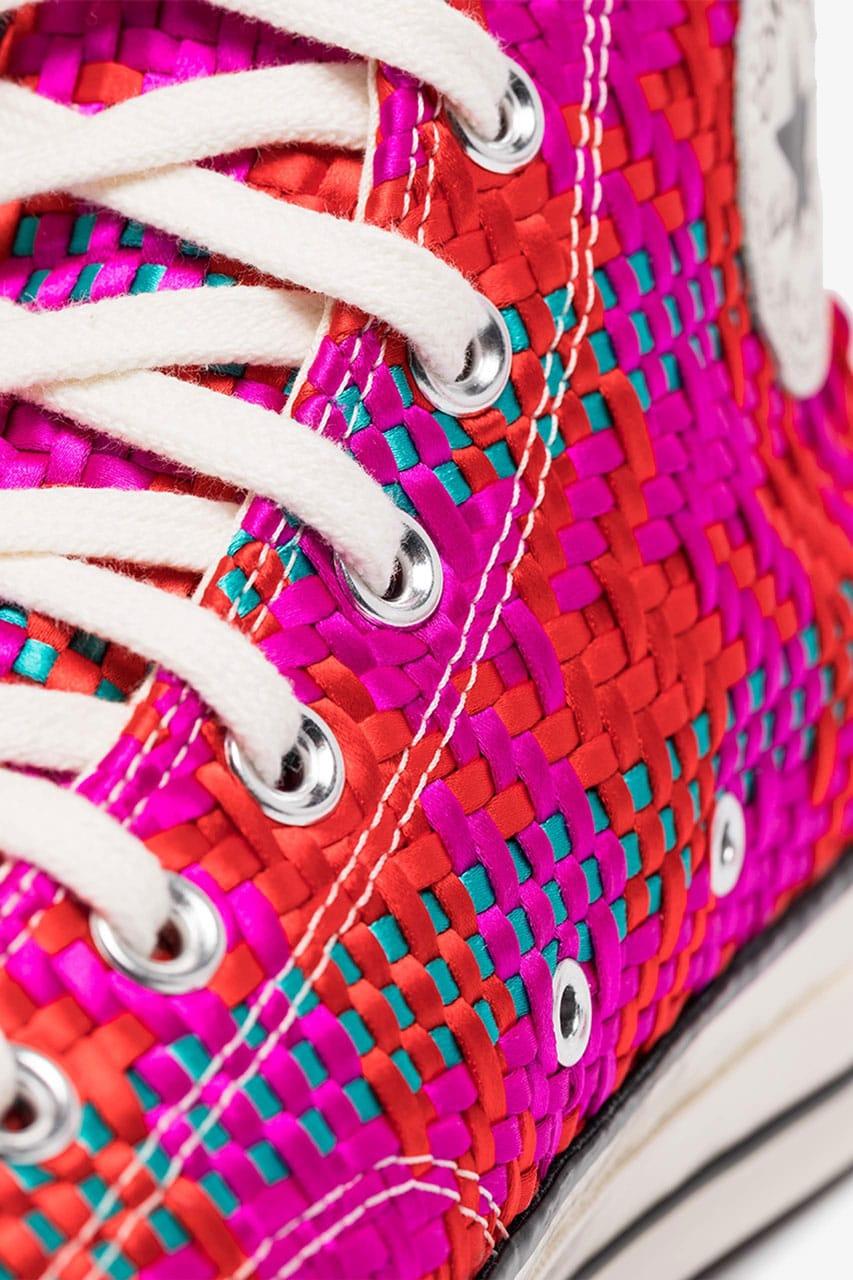 Converse Pink Chuck Taylor Woven High