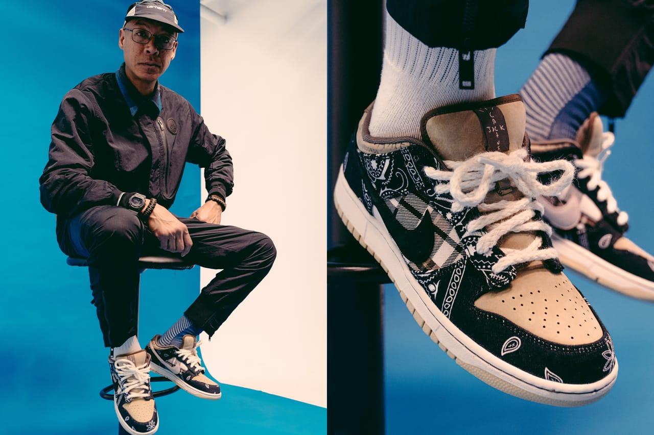 Travis Scott's Nike SB Dunk Low