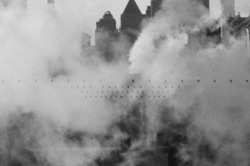 Dashiel Brahmann Fall/Winter 2020 Lookbook fw20 collection just another cloud