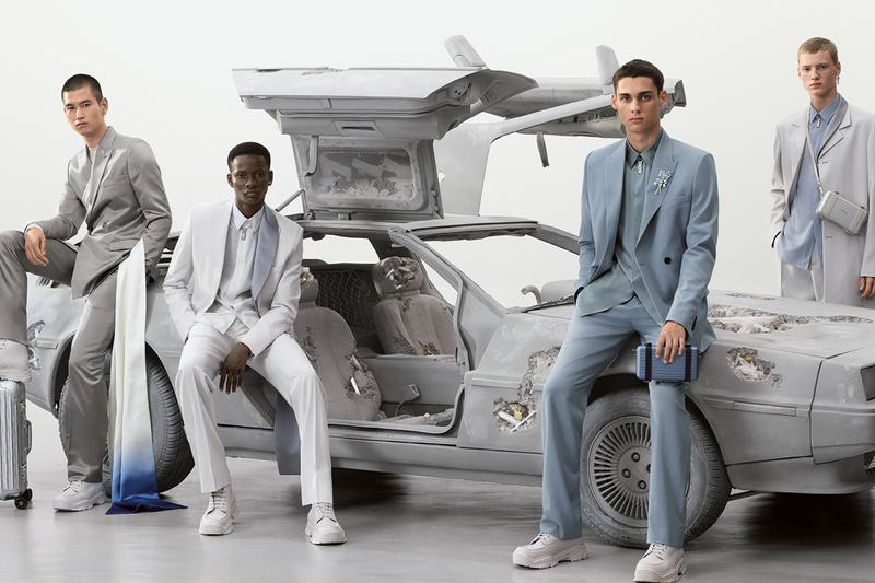 dior spring summer 2020 mens daniel arsham kim jones collection steven maisel tailoring release information sneakers accessories rimowa saddle bag collaboration buy cop purchase