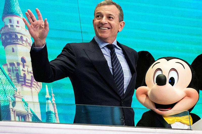 Disney CEO Bob Iger Replaced by Bob Chapek chairman parks walt company board directors announcement press release