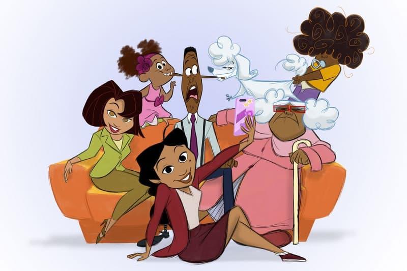 Disney+ The Proud Family: Louder and Prouder Series Original Cast Kyla Pratt Tommy Davidson