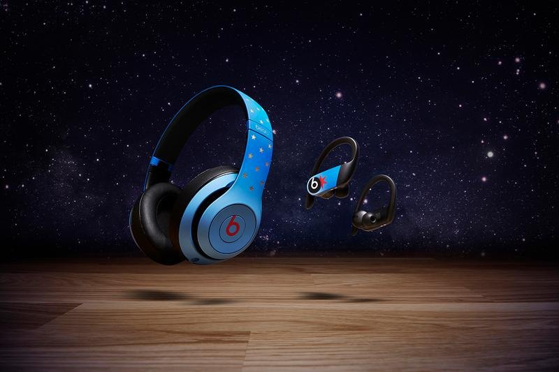 Don C Beats Studio3 Wireless & Powerbeats for LeBron James 2020 NBA All-Star Weekend Apple Products Headphones Earphones Basketball Case Jersey Style Tote Bag Closer Look Chicago