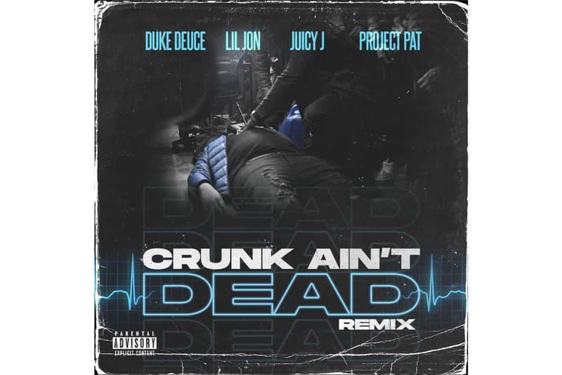 duke deuce crunk aint dead featuring lil jon juicy j project pat
