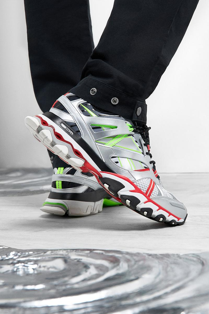 END Clothing Reebok DMX Trail Shadow Mercury Cold Pure Grey Red release information buy cop purchase order