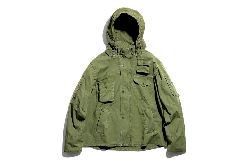 Barbour Engineered Garments Spring Summer 2020 Capsule Collection daiki suzuki vintage military surplus nepenthes japan japanese designer new york city washed graham cowen highland parka