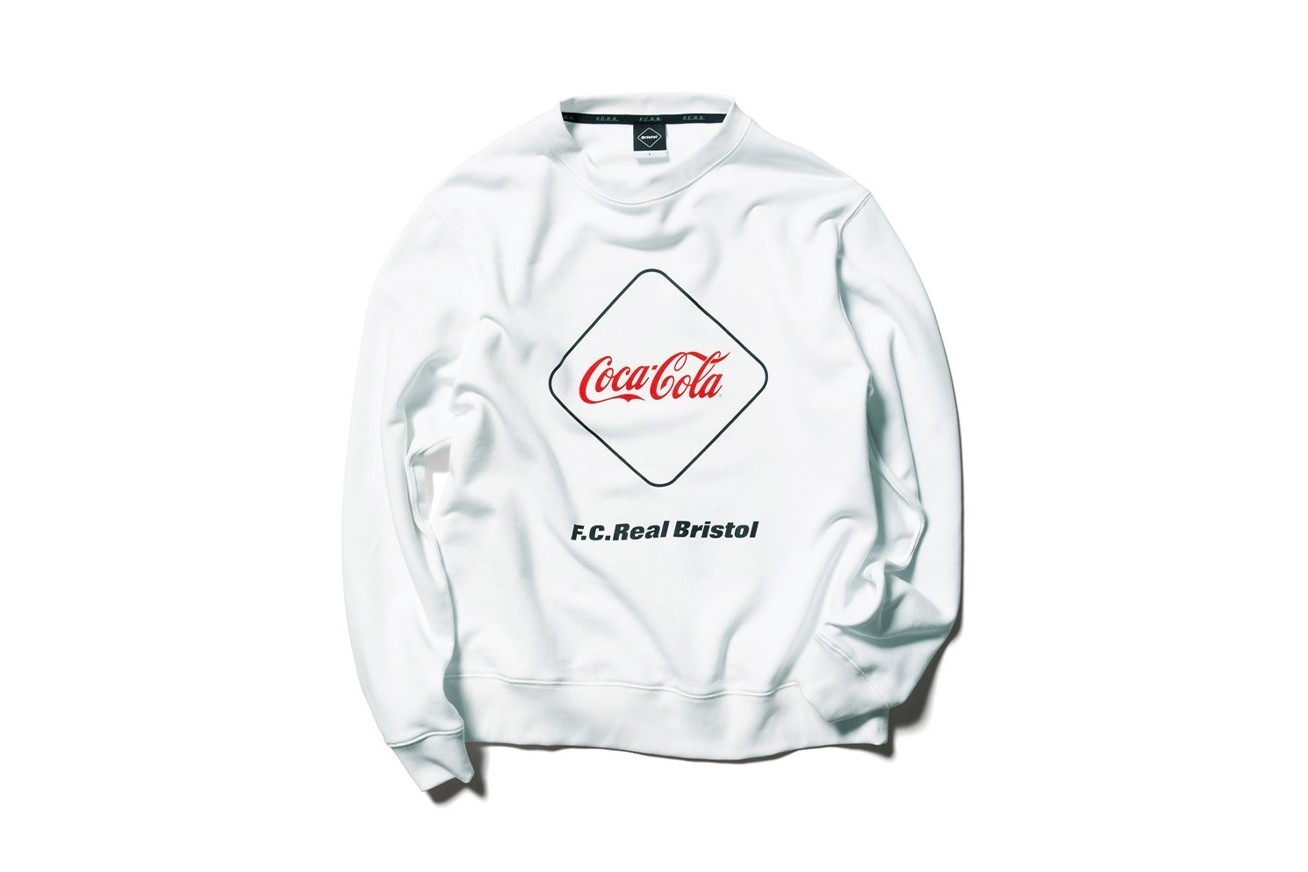 Coca Cola F C Real Bristol 2020 spring summer Capsule collection sophnet soph japanese designers streetwear star spangled red white blue monochromatic jackets shorts hoodies