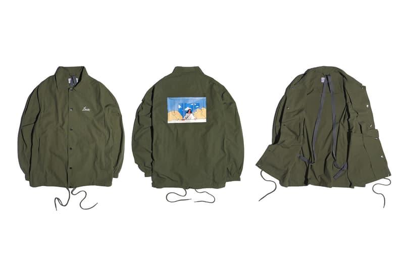 Face for LESS Taiwan Graphic Collaboration Pop-Up collection hoodies coaches jackets tee shirt okada pillow light leonardo da vinci print beat takeshi kitano bruce lee release date info