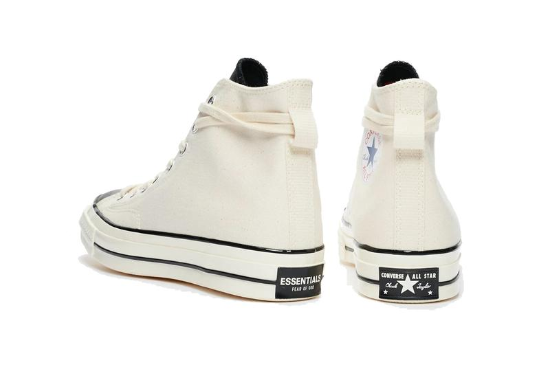 fear of god essentials converse chuck 70 hi high black egret natural white 167954C release date info photos price