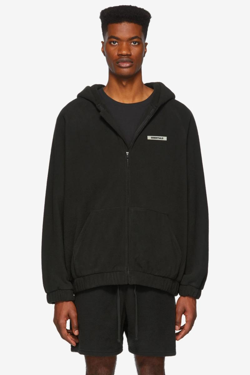 Fear of God Essentials Spring Summer 2020 Release Info Polar Vest Sweater Hoodie T shirt lounge pants shorts distance backless laceless sneakers black white grey brown tan Jerry Lorenzo
