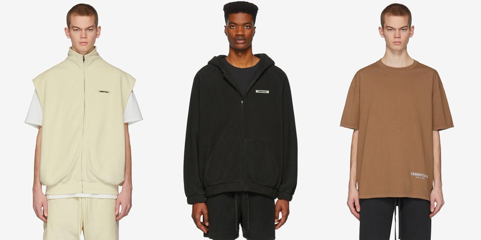 Fear of God Essentials Drops Latest Selection of Minimalist Staples