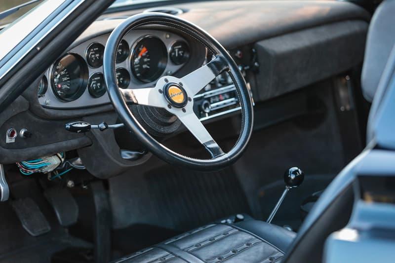 rm sothebys ferrari dino 246 gts classic vintage convertible car 1973 v6 engine