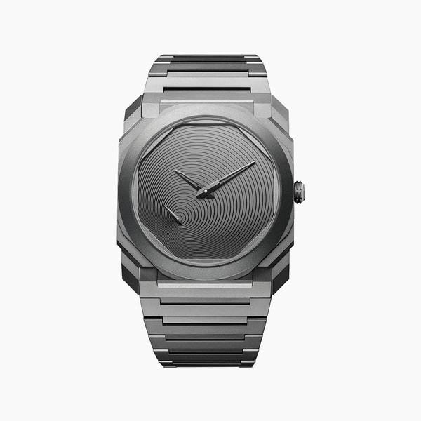 Tadao Ando x BVLGARI Octo Finissimo Automatic Watch