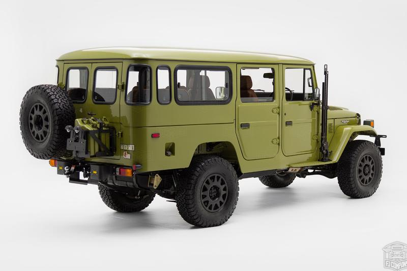FJ Company G45-S Troopy FJ45 Build Info classic jeeps 4x4 Suvs Toyota off-road