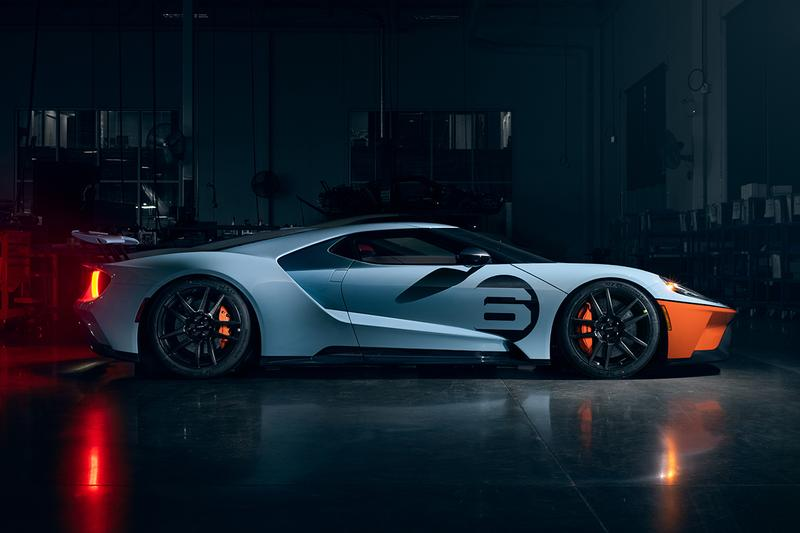 Ford GT 2020 Updates Power Updates 660 BHP Liquid Carbon Fiber Body Paint Kit New Exhaust Akrapovič System Gulf Racing heritage livery Engine Cooling 3.5-liter EcoBoost® twin-turbo V6