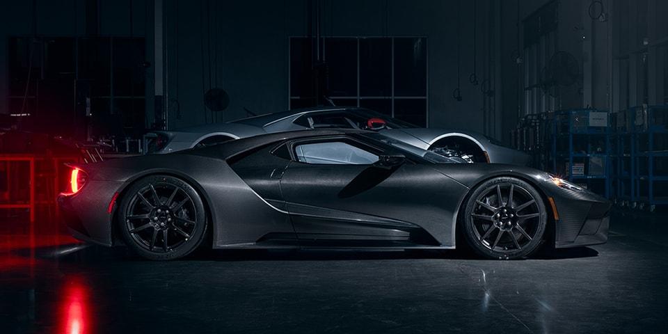 Ford Unveils $750K USD Liquid Carbon Fiber GT