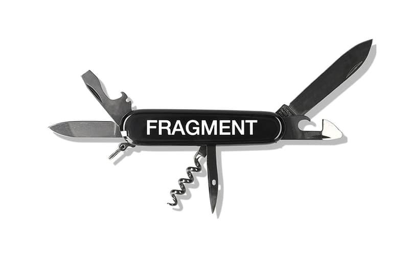 fragment design hiroshi fujiwara victorinox spart ps swiss army knives knife the conveni ginza tokyo white black red