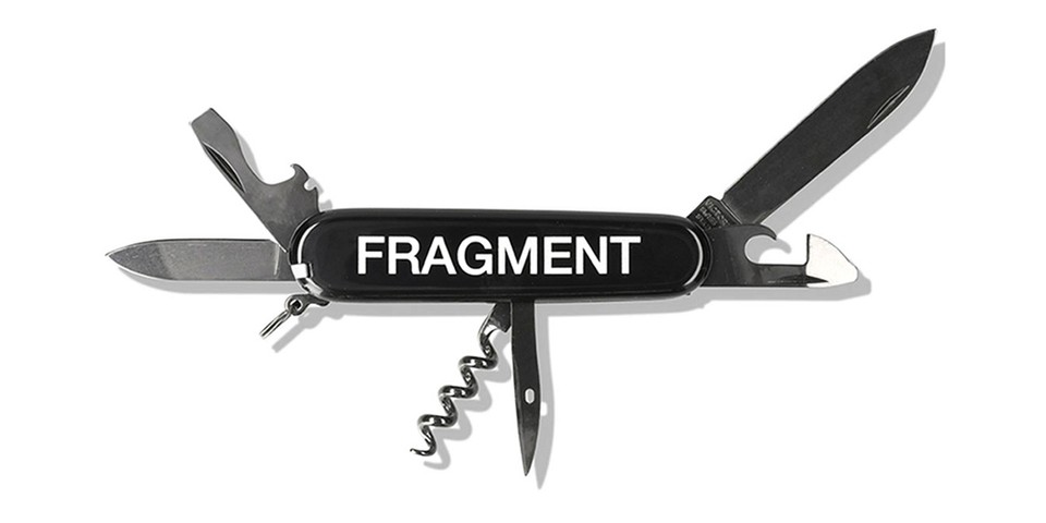 fragment design Reunites With Victorinox for More Branded Swiss Army Knives