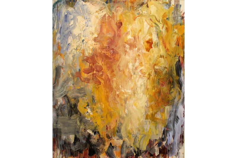 """Frank Holliday """"SEE/SAW"""" Exhibition Mucciaccia Gallery Paintings Neo-Expressionism Brushstrokes"""