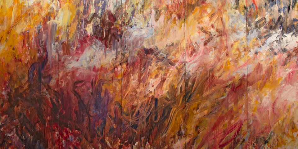Frank Holliday to Showcase Explosive Gestural Paintings in NYC Exhibition